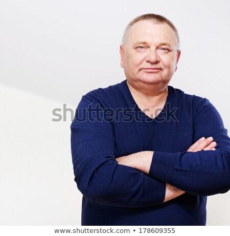 Grubas ręce oczy mężczyzn życia Zdjęcia stock © Paha_L