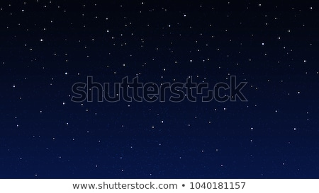 vector night star sky cosmos illustration Stock photo © TRIKONA