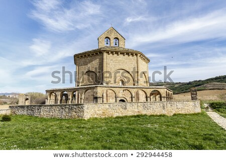 Eunate church stock photo © rmbarricarte