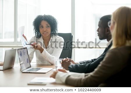 Diverzitás üzlet növekedés csapatmunka együttműködés csoport Stock fotó © Lightsource