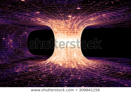 Einstein Wormhole Spacetime Stock photo © idesign