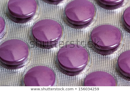 container with pills close up stock photo © oleksandro