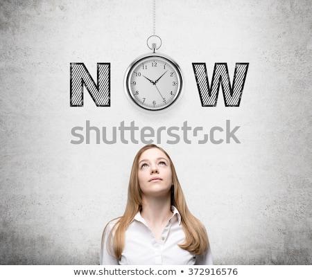 что · время · будильник · вопросительный · знак · точки · часы - Сток-фото © deandrobot