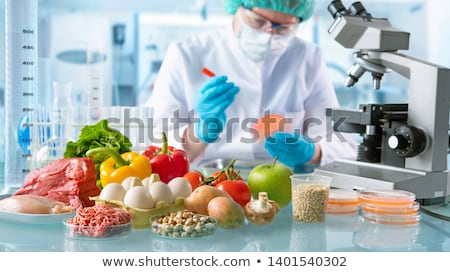 Food Inspection Concept Stock photo © Lightsource