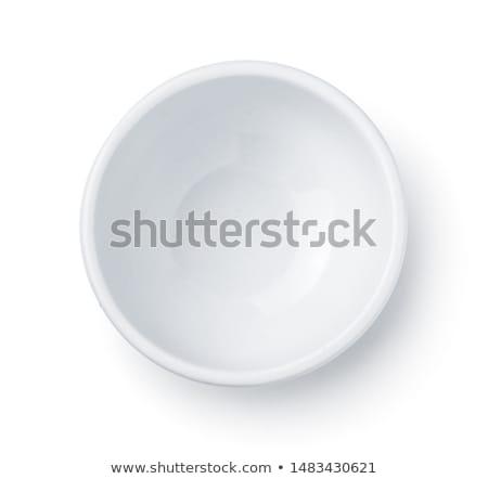 Bianco porcellana vuota piccolo oggetto piatto Foto d'archivio © Digifoodstock