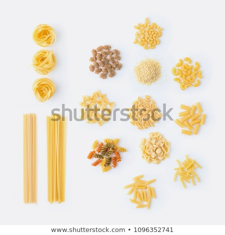 Assorted pasta and other ingredients Stock photo © Digifoodstock
