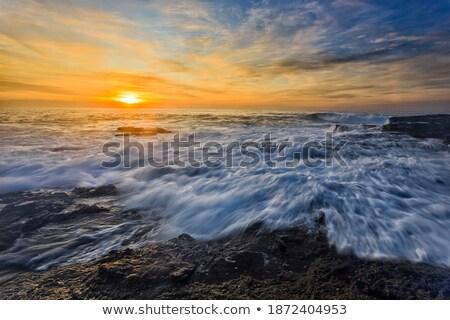 Sunrise and Ocean overflows Stock photo © lovleah