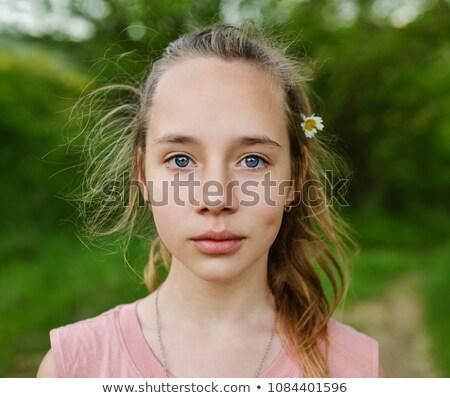 Teen Girl Daydreaming Stock photo © dtiberio