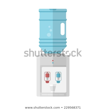 Water cooler flat icon Stock photo © biv