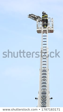 Rescuers and Saved Man on Stretcher Stock photo © derocz