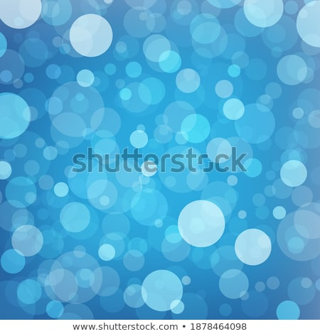 Blue Sweet Water Summer Bokeh Out Of Focus Background Vector. Abstract Lights On Blue Bokeh Blurred  Stock photo © pikepicture