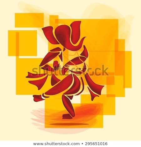 abstract artistic ganesha background Stock photo © pathakdesigner