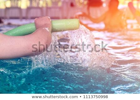 Aquarobic, underwater fitness Stock photo © stevanovicigor