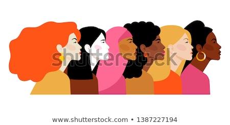 Women's friendship Stock photo © Pilgrimego