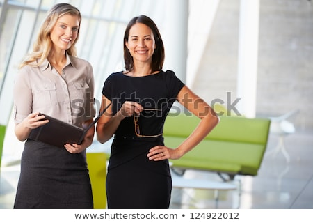 portrait of two business women stock photo © is2