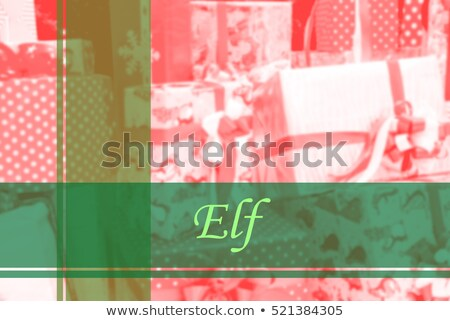 vecteur · joyeux · Noël · fête · flyer · illustration - photo stock © articular