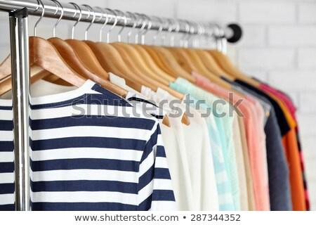 服 ファッション ラック 誰も クローズアップ ストックフォト © IS2