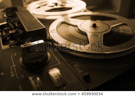 Studio recording panel retro style Stock photo © tracer