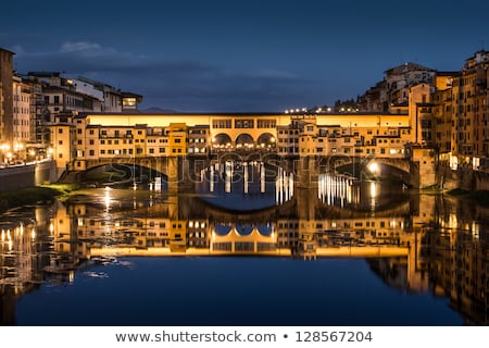 Ponte Vecchio panorama Stock photo © Givaga
