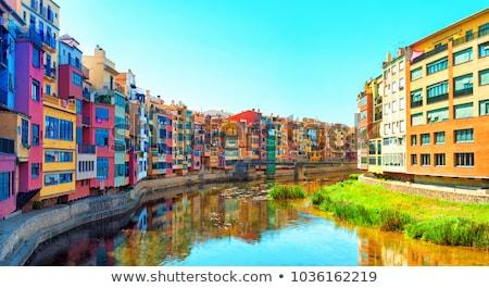 Girona in Spain Stock photo © neirfy