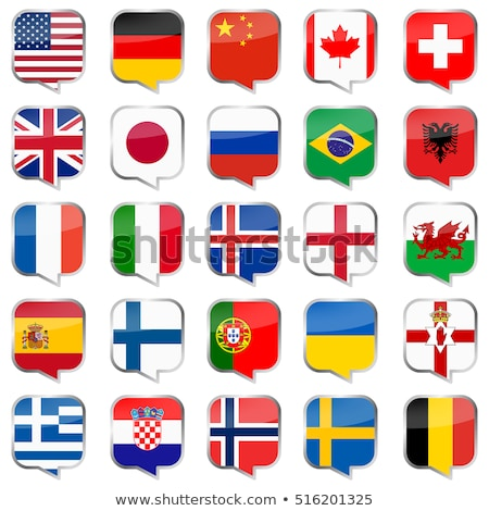 Speech bubbles with Ireland and England Stock photo © Ustofre9