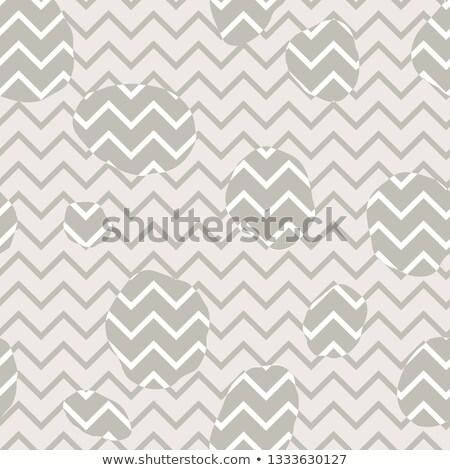 Végtelen minta cikcakk vonal textúra átló feketefehér Stock fotó © Terriana