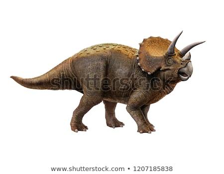 вектора · изображение · смешные · Cartoon · динозавр · дизайна - Сток-фото © colematt