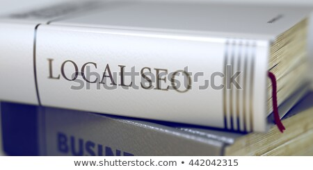 Lead Generation - Business Book Title. 3D Rendering. Stock photo © tashatuvango