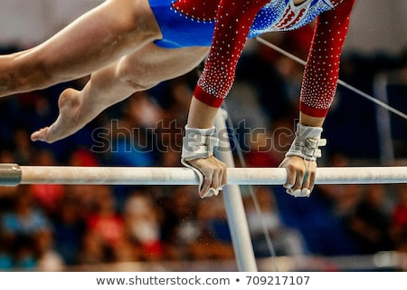 Gymnastic championship Stock photo © Anna_Om