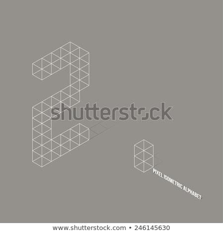 3D · número · dorado · aislado · blanco - foto stock © djmilic