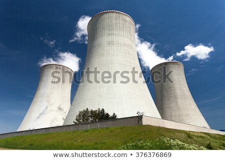 Modern atomic reactor Stock photo © jossdiim