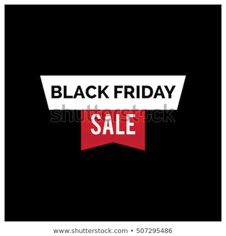 Foto stock: Black · friday · venta · flecha · estilo · moderna · tienda