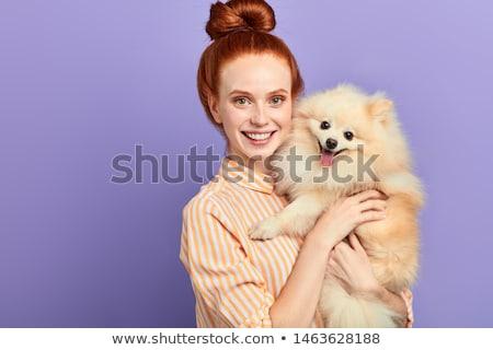 Femminile preferito pet di bell'aspetto Hat Foto d'archivio © vkstudio
