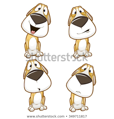 cartoon dogs and puppies large set Stock photo © izakowski