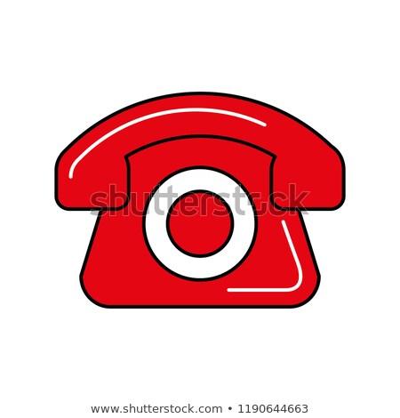 Teléfono línea de ayuda compras en línea cuadro móviles ayudar Foto stock © yupiramos