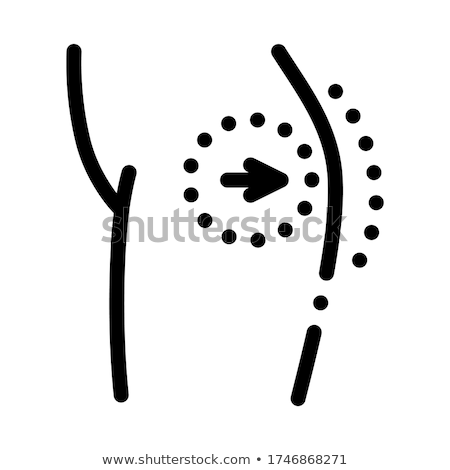 surgical ass enlargement icon vector outline illustration Stock photo © pikepicture