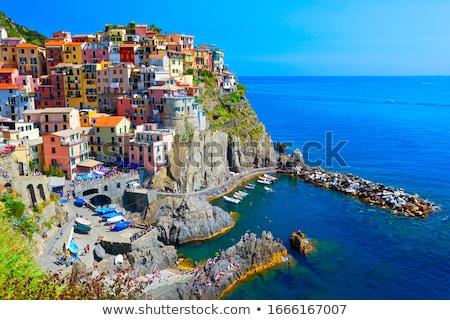 Riomaggiore village, Cinque Terre, Liguria, Italy Stock photo © dmitry_rukhlenko