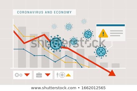 financial crisis alert Stock photo © smithore