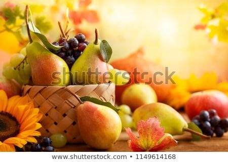 Groenten stilleven voedsel gezondheid interieur plantaardige Stockfoto © phbcz