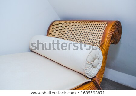 Popular classic armchair with brown leather Stock photo © Victoria_Andreas