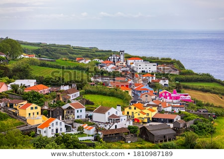 settlement scenery at the Azores Stock photo © prill