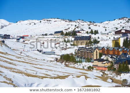 world landmarks in the snowfield stock photo © ajlber