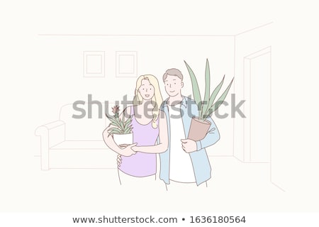 Newly married couple Stock photo © photography33