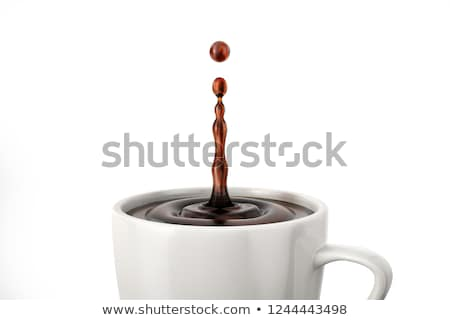coffee drops stock photo © toaster