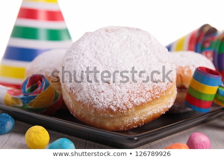 donuts and carnaval decoration Stock photo © M-studio