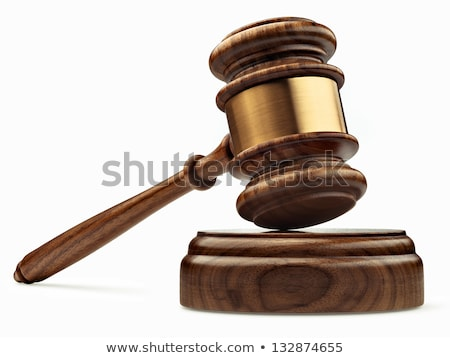Martelo gabela branco lei justiça Foto stock © wavebreak_media