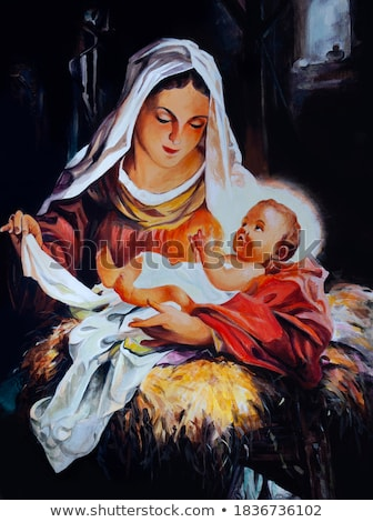 Madonna and Child  Stock photo © Snapshot