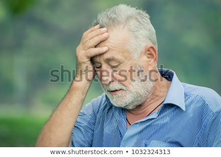 Businessman holding his head in despair Stock photo © photography33