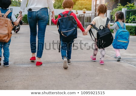 school children bus stock photo © lightsource