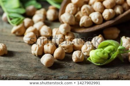 achtergrond · salade · vers · dieet · boon · voeding - stockfoto © M-studio